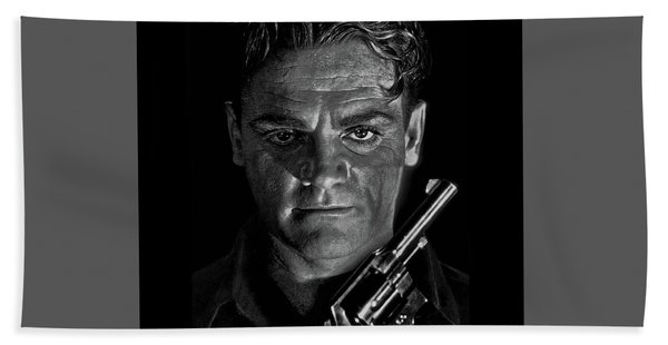 James Cagney - A Study Hand Towel