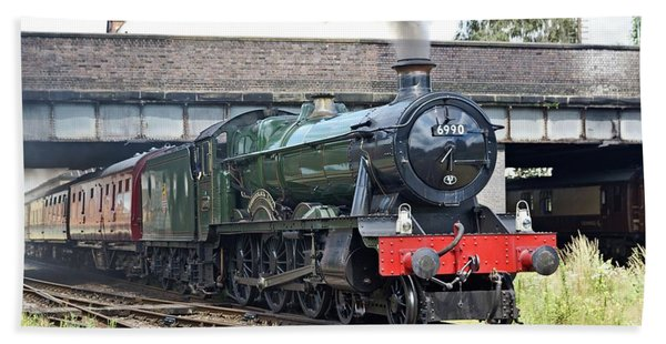 6990 Witherslack Hall Departing Loughborough Hand Towel