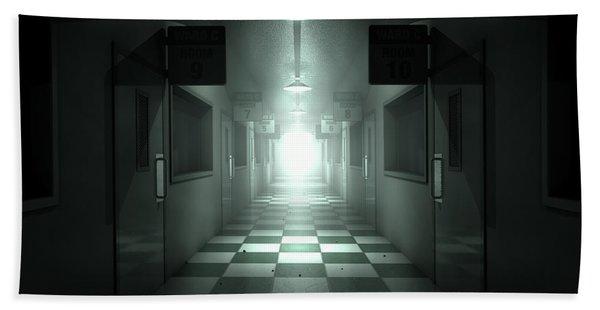 Mental Asylum Haunted Hand Towel