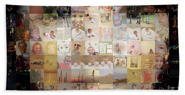 A Child - Many Children Hand Towel