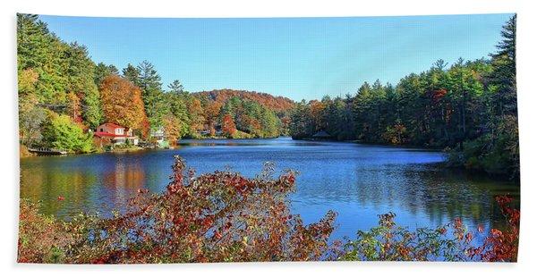 A North Carolina Autumn Hand Towel