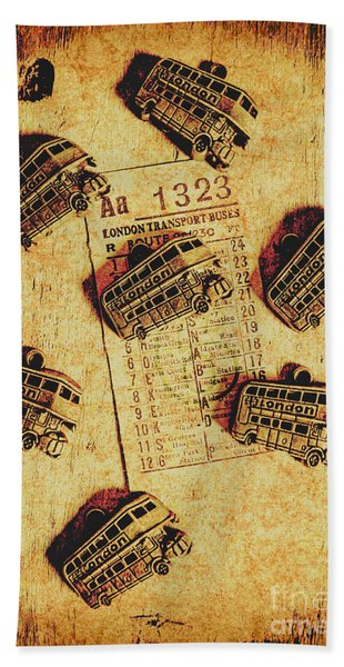 A Return To Old London Hand Towel
