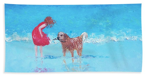 A Summer Breeze Hand Towel