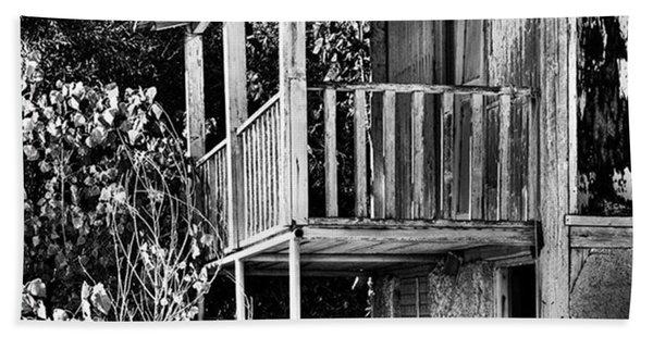 Abandoned, Kalamaki, Zakynthos Bath Towel
