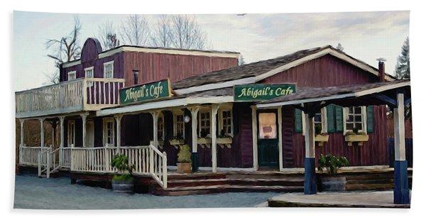 Abigail's Cafe - Hope Valley Art Bath Towel