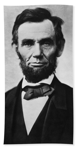 Abraham Lincoln Hand Towel