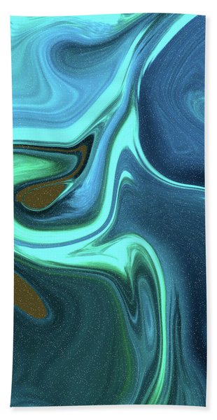 Abstract Art Union Vertical Format Bath Towel