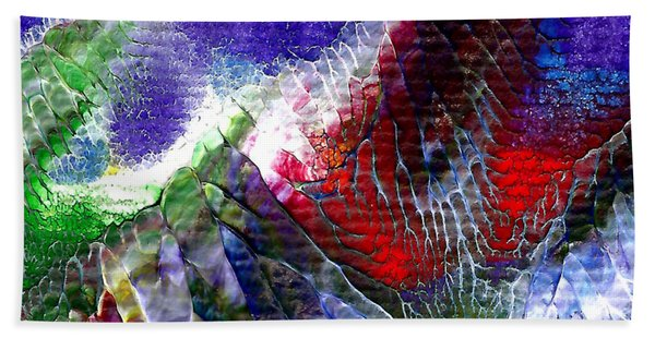 Abstract Series 0615a-3 Bath Towel
