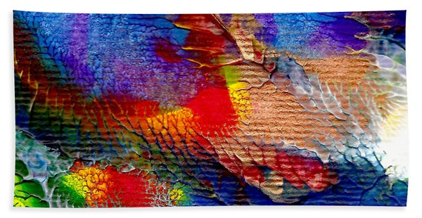 Abstract Series 0615a-5 Bath Towel