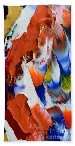 Abstract Series N1015bp Copy Bath Towel