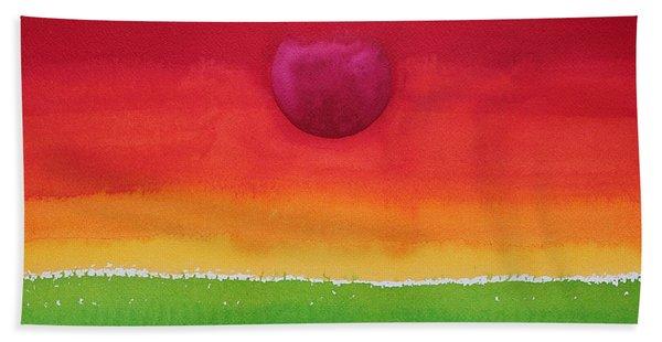 Acceptance Original Painting Hand Towel