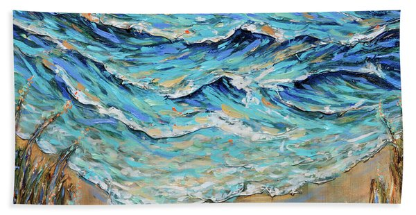 Afternoon Tide Hand Towel