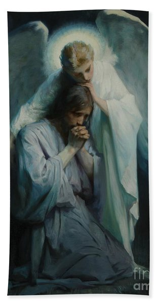 Agony In The Garden  Hand Towel
