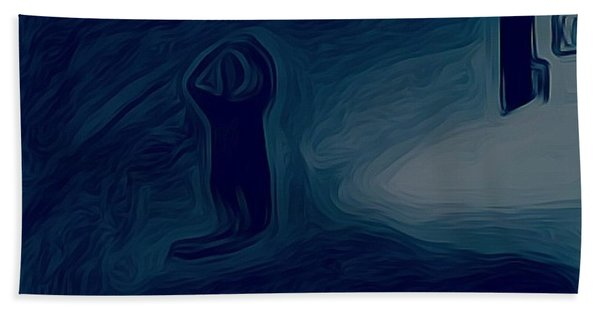 Agony Of The Outside World 1 Hand Towel