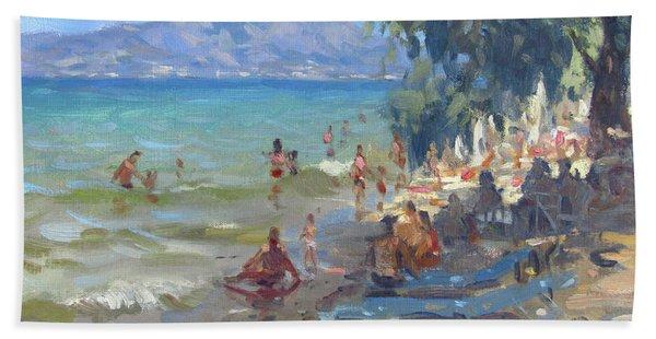 Agrilesa Beach Athens  Bath Towel