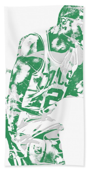 Al Horford Boston Celtics Pixel Art 5 Hand Towel