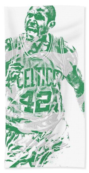 Al Horford Boston Celtics Pixel Art 7 Hand Towel