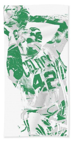 Al Horford Boston Celtics Pixel Art 8 Hand Towel