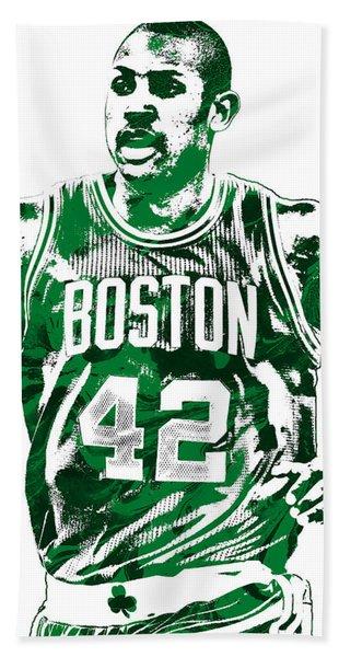 Al Horford Boston Celtics Pixel Art Hand Towel