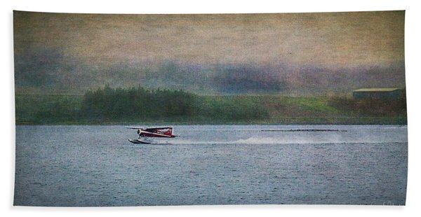 Alaskan Floatplane Bath Towel