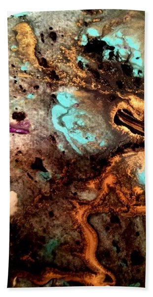 All That Glitters Abstract Hand Towel
