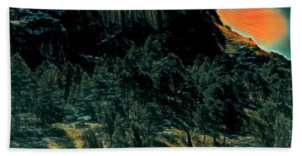 Bath Towel featuring the photograph Almeria Nature Spain  by Colette V Hera Guggenheim