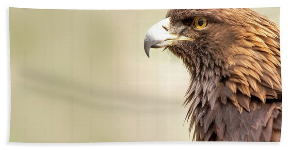 American Golden Eagle Hand Towel
