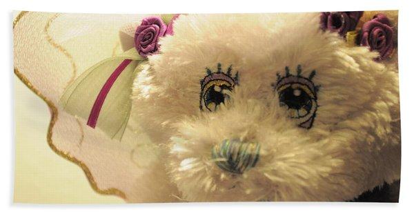 Amethyst Fairy Bear Hand Towel