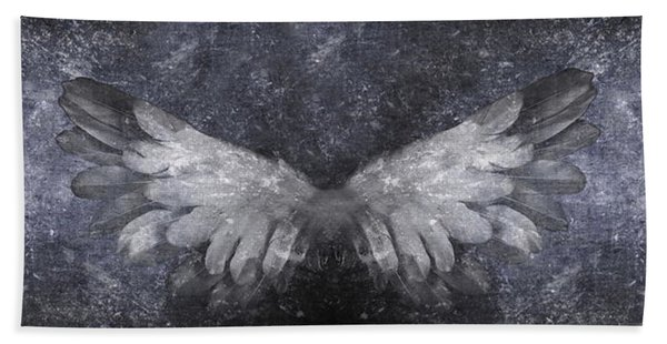 Angelic Visitation Bath Towel