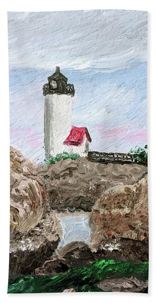 Annisquam Sunset 1 Bath Towel