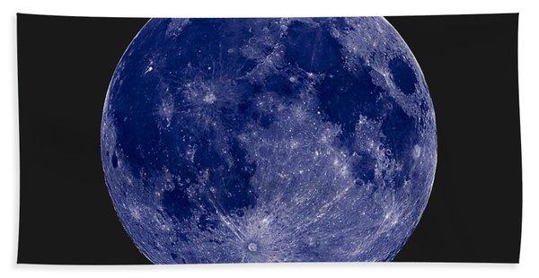Another Blue Moon Bath Towel