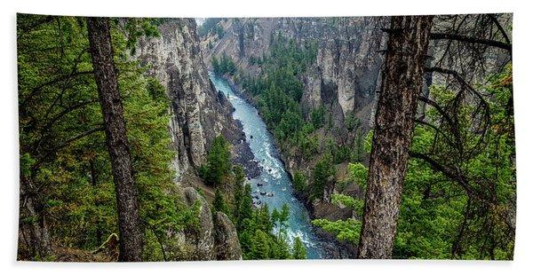 Antelope Creek, Yellowstone Hand Towel