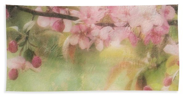 Apple Blossom Frost Hand Towel