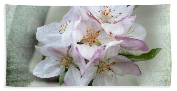 Apple Blossoms From My Hepburn Garden Bath Towel