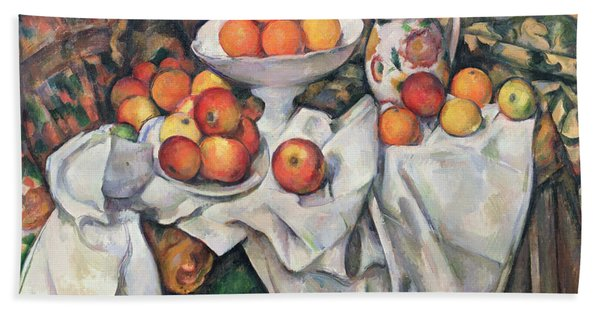 Apples And Oranges Hand Towel