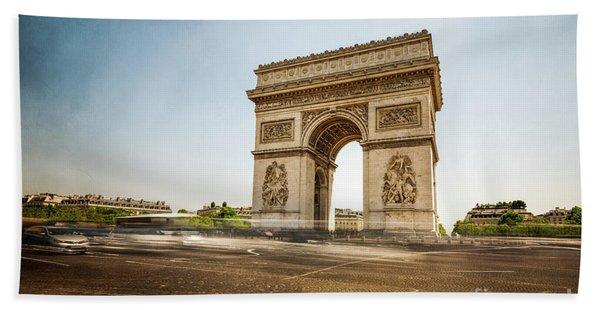 Arc De Triumph Hand Towel