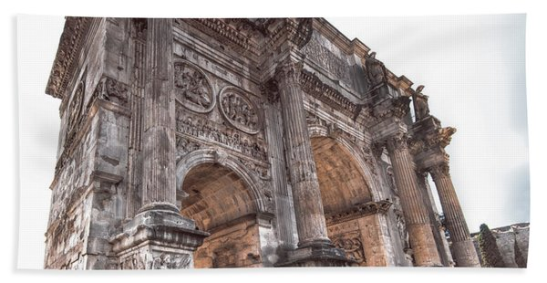 Arch Of Constantine Hand Towel