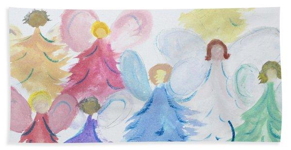 Archangels    Malchei Roshei Hand Towel