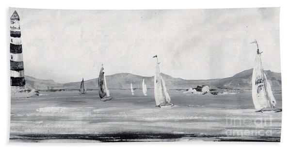 Around The Cape Hand Towel