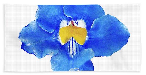 Art Blue Beauty Bath Towel