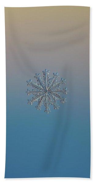 Snowflake Photo - Wheel Of Time Bath Towel
