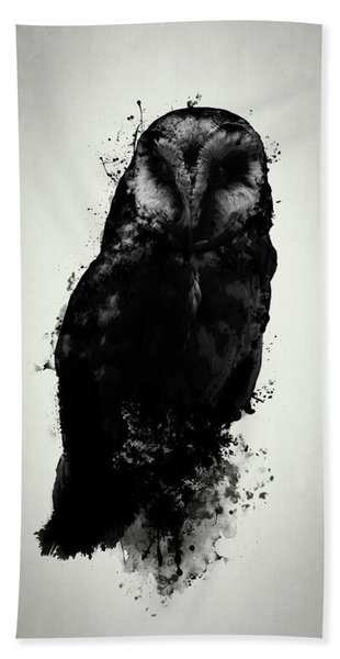 The Owl Hand Towel