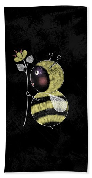 B Is For Bumble Bee Bath Towel