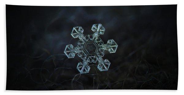 Real Snowflake - Ice Crown New Bath Towel