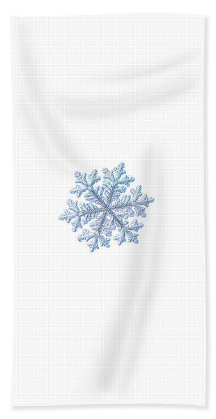 Real Snowflake - Hyperion White Hand Towel