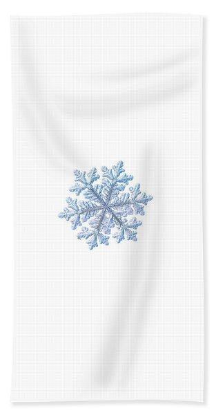 Real Snowflake - Hyperion White Bath Towel