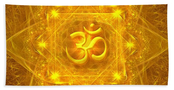 Authentic Om  Hand Towel