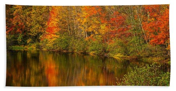 Autumn In Monroe Bath Towel