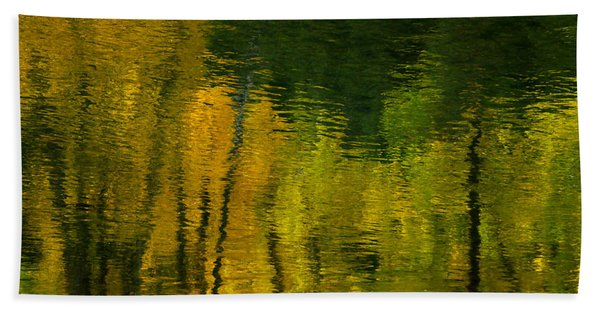 Autumn In Truckee Bath Towel