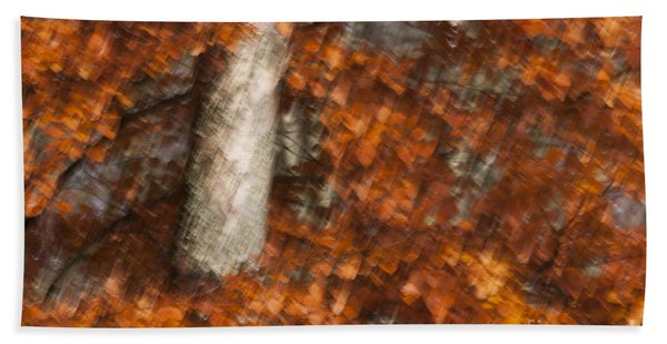 Autumn Tree Hand Towel